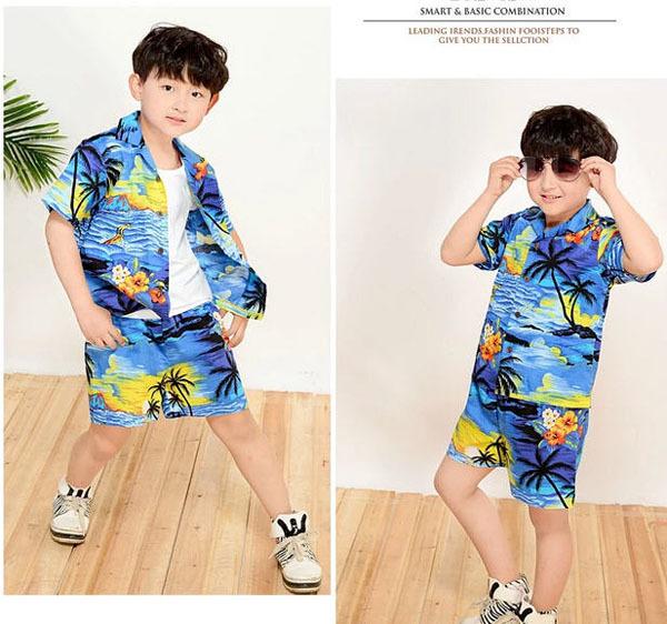Model Baju Pantai Anak Laki