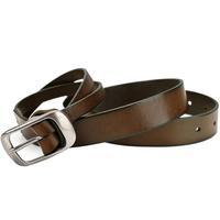 UY Genuine Leather Cow Hide Belt Men Zinc Alloy Buckle Strap Pin Belts Waistband Fashion Luxury 110-115cm 130168531