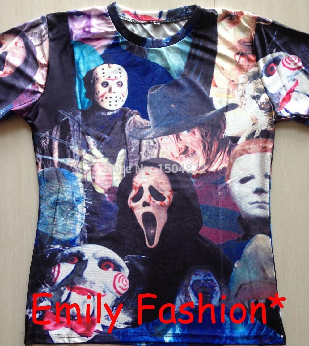 Мужская футболка Emily fashion t /hd 3D t A-22 мужская футболка emily fashion t rihanna 3d t s m l xl xxl a 51
