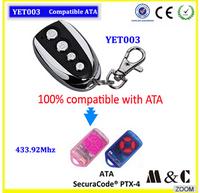 MC YET003  remote control compatible with ATA PTX-4