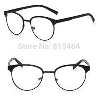 Round designer brand unisex computer glasses clear lens gafas oculos optical eyeglass frames for men fashion women nerd glasses