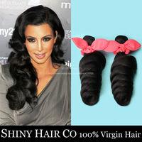 5 Bundles Brazilian Virgin Hair Loose Wave Natural Black 6A Unprocessed Human Hair Weave King Hair Wowigs Virgin Brazilian Hair