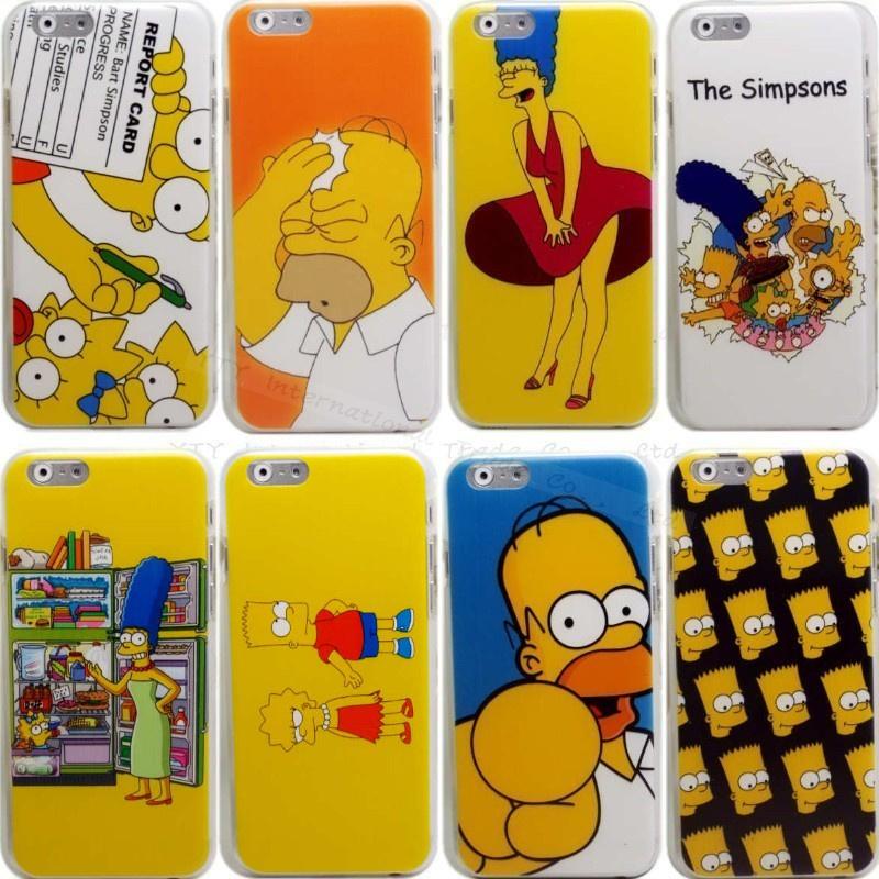 Case Simpsons Iphone 4 Iphone 6 6g 4.7'' Case