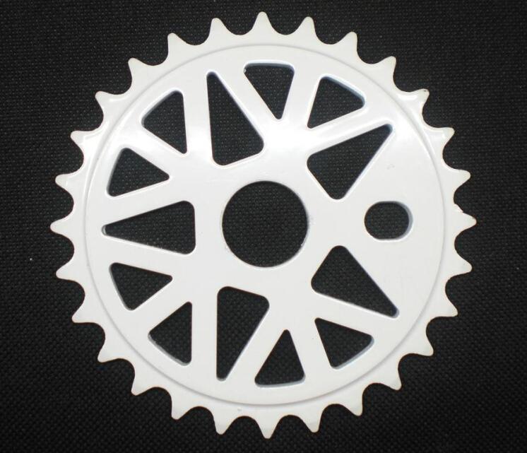original taiwan brand stock limited 6061 ally aluminum 28T full CNC processing plate BMX chain wheel(China (Mainland))