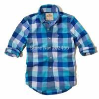 FREE SHIPPING  -hot sell ! 2014  Men's Shirts Brand cotton   long sleeve shirt fashion shirt for young