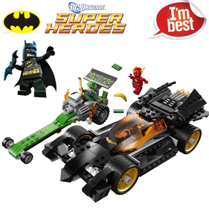 Детская игрушка BELA 281pcs DC Riddler DIY /, LEGO 76012 10227 жатки трованая камбайн е 281