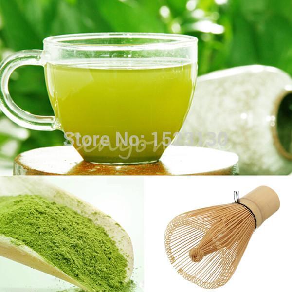 2pcs lot 100g Certified Organic Ultrafine Stone Ground Matcha Green Tea Powder Free Shipping