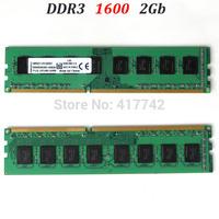 Good RAM!!! desktop DIMM memoria ddr3 2Gb 1600 RAM  / ddr3 RAM 1600Mhz PC3-12800 2G  --lifetime warranty-- good quality