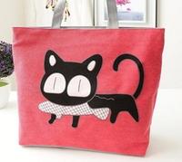 FREE SHIPPING CUTE CAT BAGS WOMEN CANVAS  DESIGUAL 2014 Fashion Desigual  tote Handbag Shoulder Bags Women Messenger HB01
