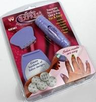 Salon Express New DIY Design Kit Professional Nail Art tools Stamp Stamping Polish Nail Decoration as seen on tv