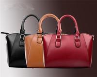 New Fashion 1Pcs Women Handbag Crossbody Shoulder Bag Large Capacity Simple Bag Hot Sale PU Leather Messenger Bags EJ641106