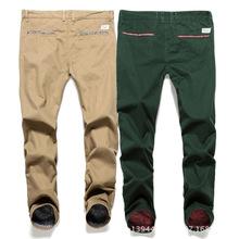 Verano nuevo buen material italia pantalones casuales delgado cintura recta parche impreso D9029 Addid disel hoy no obtener esperar años(China (Mainland))
