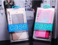 Retail Plastic Packaging Package Crystal Packing PVC box For Cell phone Case For iphone 6 6 plus