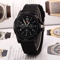 Sweep around the world ! New Men's Brand Quartz Wristwatch Army military watches Men Sports watch