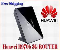 Unlocked Huawei B970b Wan Port+ 4 Lan Ports 7.2Mbps 3G HSDPA WCDMA WirelessWIFI Router With SIM Card Slot Home Network Broadband