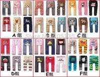 6pcs/lot Baby Cloting Winter Children kids pp pants toddler cartoon legging tights long trousers Warmer socks