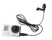 Professional Mic Microphone Mini USB Cable And External Fidelity Dedicated Microphone For GOPRO Hero3 /3+ Go pro Accessories #70