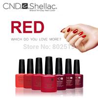 2014 New CND Shellac Soak Off UV LED Nail Gel Polish free pick 40 colors Nail Gel 40pcs/lot