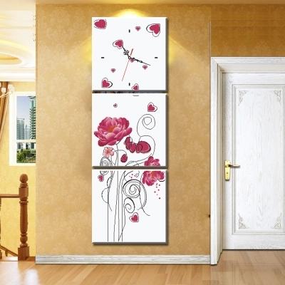 Online kopen wholesale verticale wandklok uit china verticale wandklok groothandel - Entree decoratie ...