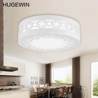 Free shipping 6W 6000K White surface mounted small LED ceiling lamp for balcony bedroom light  HXD272 Diameter 22cm  AC175V-265V