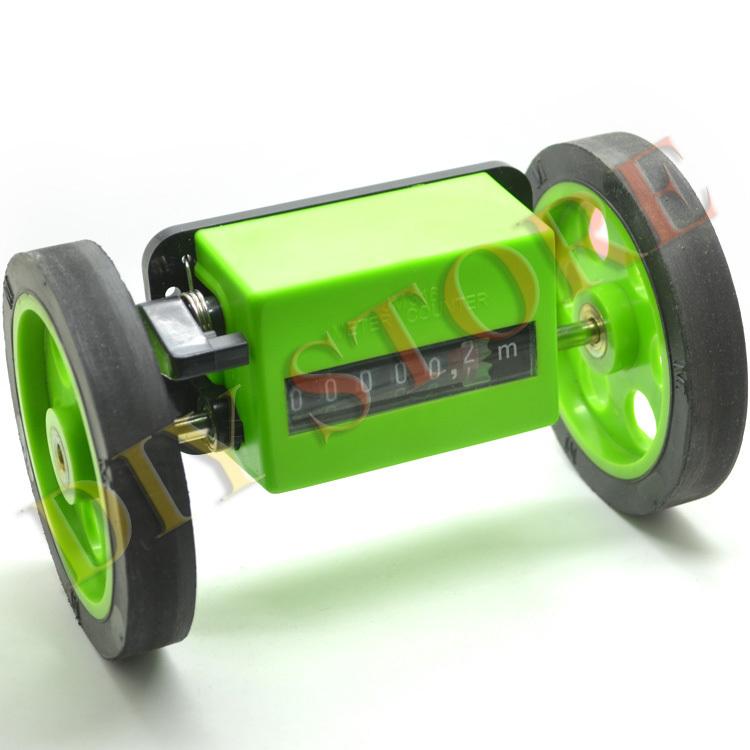 2pcs Meter Counter Rolling Wheel Mechanical Length Counter free shipping & drop shipping 12000261(China (Mainland))