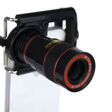 New 8X Zoom Telescope Wide Angles Macro Fish Eye Lens Clip for iPhone 5G 5S Just for you