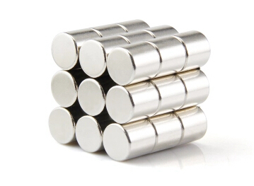20 pcs Dia. 10 x 10 mm Filter magnet NdFeB Disc Magnet rod Neodymium Magnets Grade N35 NiCuNi Plated Axially Magnetized(China (Mainland))