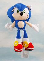 "Free Shipping Sonic the Hedgehog Super Big 19"" Plush Toy Cosplay Costume Soft Stuffed Doll  HWPT018"