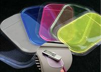 Black Powerful Silica Gel Magic Sticky Pad Anti-Slip Non Slip Mat for Phone PDA mp3 mp4 Car