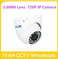 Escam QD520 dome CCTV Security Camera 720P IR  H.264 1/4 CMOS IP Camera Night Vision P2P 1.0MP Mini Camera