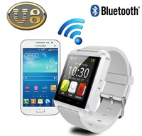 """2014 New 1.55"""" U8  Watch Bluetooth Touch screen Sport Smart phone for Android Galaxy Note 2 3 4 iPhone 4 4S 5 5S Sumsung  S4 S5"""
