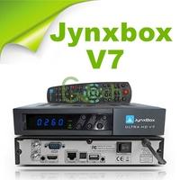 Free Shipping jynxbox ultra hd v7 with JB200 module build in wifi, support YouTube,USB PVR,HDMI JynxBox V7 for North America