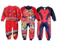 Newest Retail Hot sale Children/kids/girls clothing/ Long Sleeve cartoon fleece Sleepwear/Robe /Pajamas /sleeper(2-10Y)