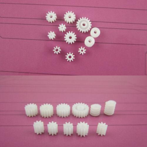 11 Kinds Plastic Shaft Gears 9Spindle and 2Worm DIY For Toy Robot Best Free Shipping(China (Mainland))