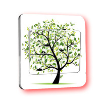 Home decoration Wall switch home decoration wall hangings home fashion switch stickers
