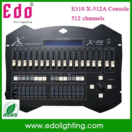 sunny512 dj Console Dmx512 computer light X-512A computer light dj console 512 dj controller(China (Mainland))