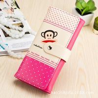 2014 wallet ladies long cartoons in the Korean version change purse clasp clutch bag Taobao best selling purses wholesale