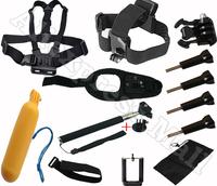 Sj4000 Gopro accessories Bags For Go Pro  Hero 3 4 1 2 Black Edition Tripod Mount for Camera Use Monopod selfie stick