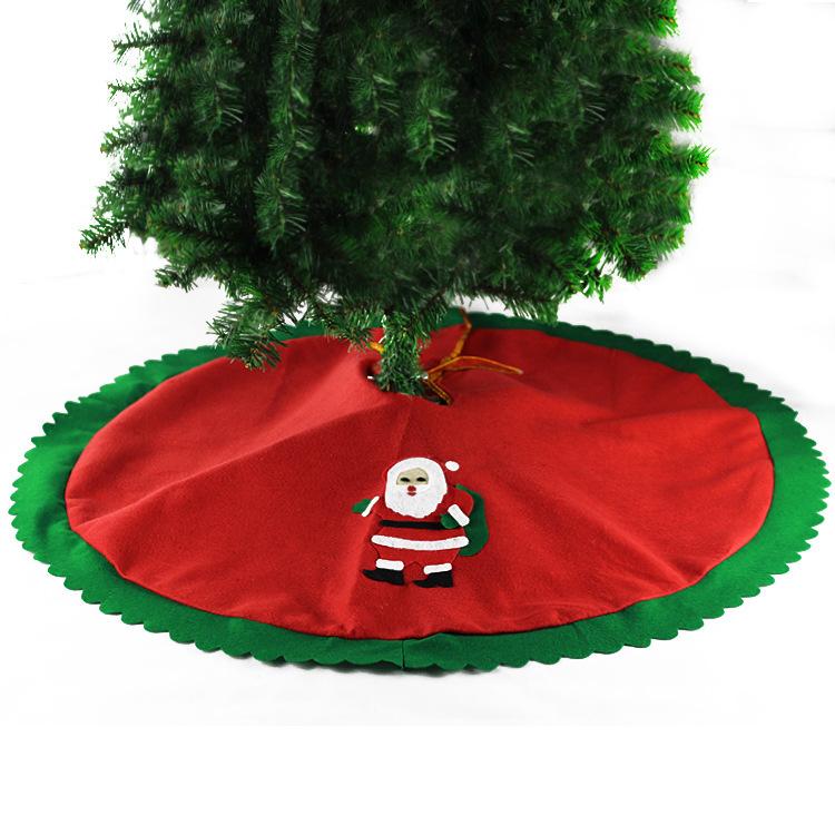 Libera vendita di spedizione calda 70cm-90cm pupazzo di neve albero gonna albero di natale gonna albero di natale decorazione di natale forniture
