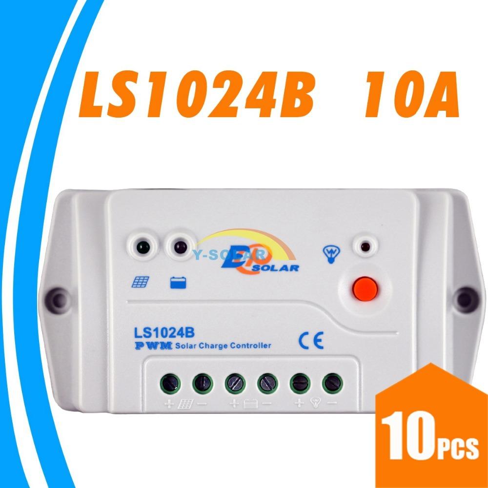 Солнечный контроллер YSmart 10A PWM 12V 24V auto EPsolar LS1024B