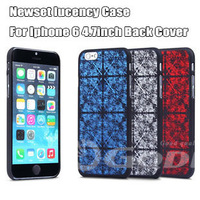 2014 Newest lucency Case For Iphone 6 4.7inch Back Cover For Apple IPhone6 chocolate Cases Wholesales Tricolor Totem case