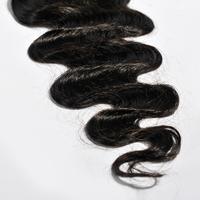 Peruvian Lace Closure 3.5x4 Middle 3 Part Lace Closure Bleached Knot Peruvian Virgin Hair Body Wave Free part Human Hair Closure