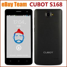 5″ Android 4.4 MTK6582 Quad Core Cell Phones 1.3GHz 1GB+8GB Unlocked Quad Band AT&T WCDMA GPS QHD IPS Smartphone CUBOT S168