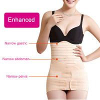 Three-piece suit women vestido de renda waist training corsets body shaper bodysuit women butt lifter corrective underwear