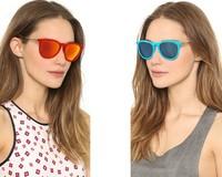 New RB Erika Velvet Fashion Sunglass 2015 Vintage Sunglasses Women Brand Designer Sun Glasses Round 4187 Oculos de sol Feminino