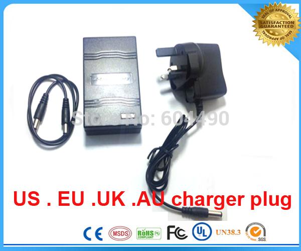 UPS/FEDEX/DHL shipping 20pcs/lot 12V 2000mah Rechargeable Li-ion Lithium Battery for CCTV camera,LED light(China (Mainland))