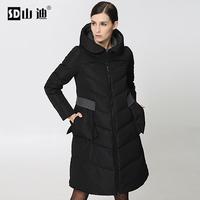 Women Winter Down & Parkas Coat 2014 long Italian design thick fashion Brand Casual Women Winter Outerwear