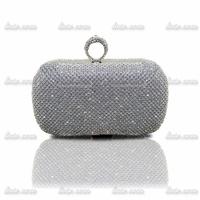 The new 2014 luxury Classic Rhinestone evening bags full of diamond fashion ring diamond Clutch Shoulder Messenger packet