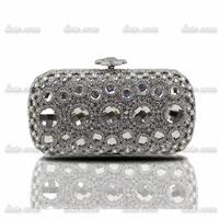2014 summer Ladies Wedding temperament fashion handbags handbag studded rhinestone Luxury Pearl bridal clutch bag Evening Bags