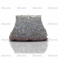 2014 New Luxury high-end diamond handbags Bridal Handbags Beaded Premium A Rhinestone Clutch For Lady Crystal Evening Bag